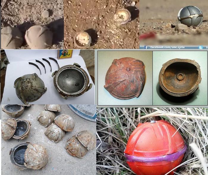 Суббоеприпасы ШОАБ-0,5 на изображениях из Эль-Латамны, из Эль-Бавабии и с форума Guns.ru