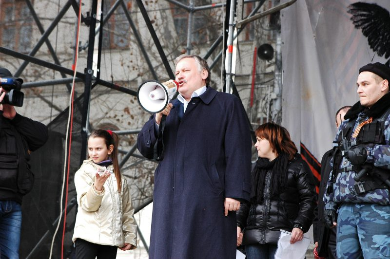 Константин Затулин на митинге в Севастополе, 1 марта 2014 (источник)