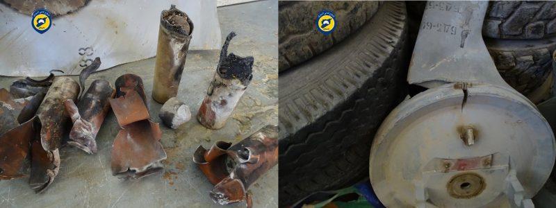 Фото отделения «Сирийской гражданской обороны» провинции Хомс